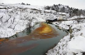 Belle Fouch pipeline spill