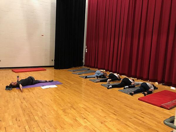 crow creek high school yoga