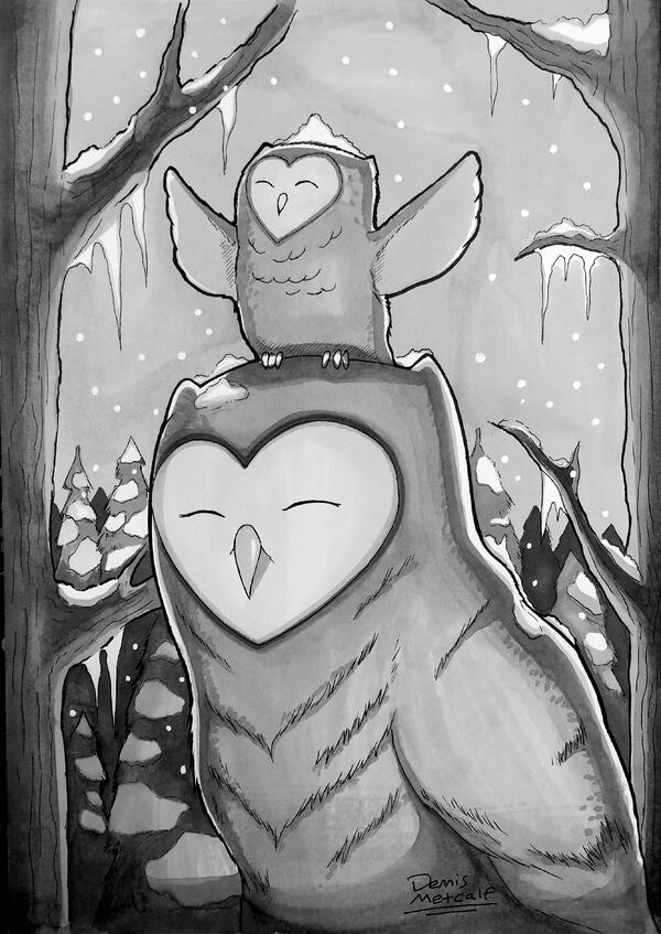 DennisOwls-drawing