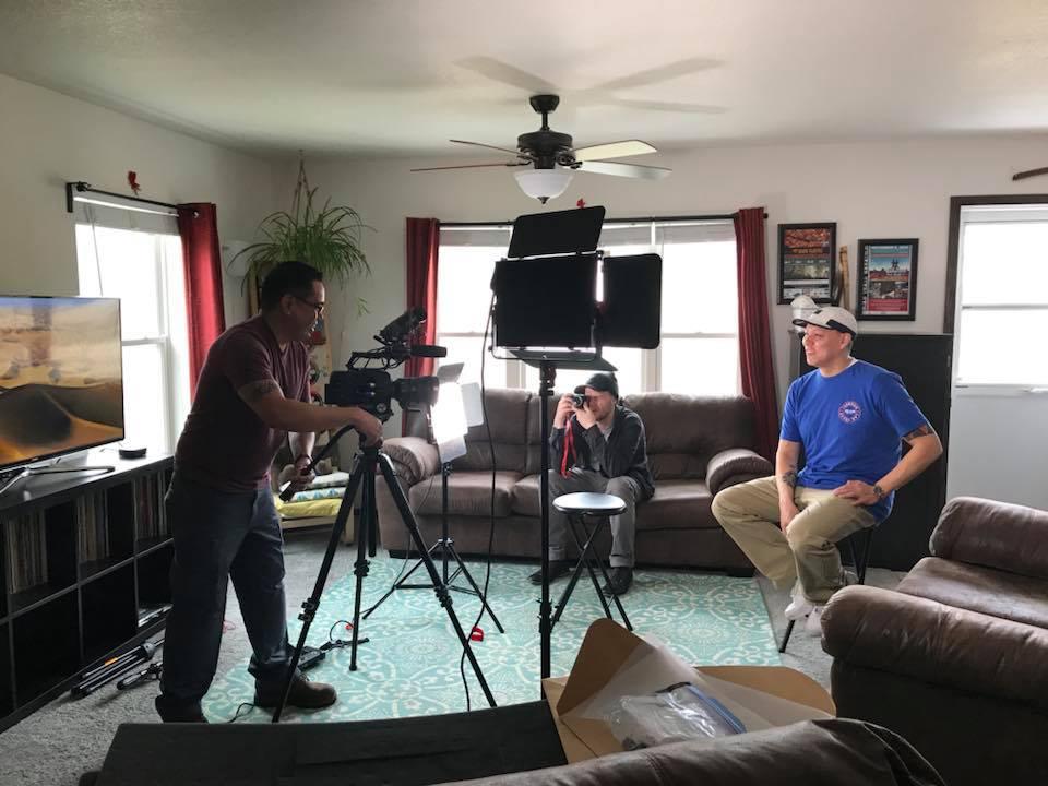 HANs filming with Dirk Whitebreast.jpg