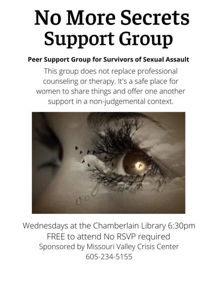 No More Secrets Support Group-2