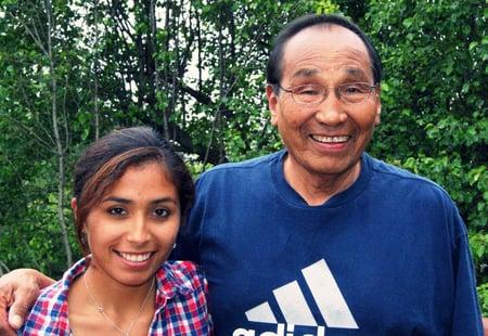 Nyal and Jordan his grand daughter.jpg