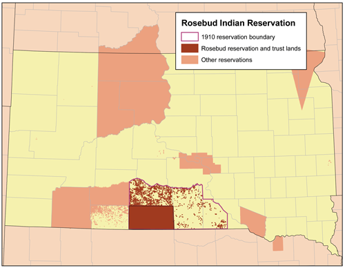 Rosebud-reservation-map