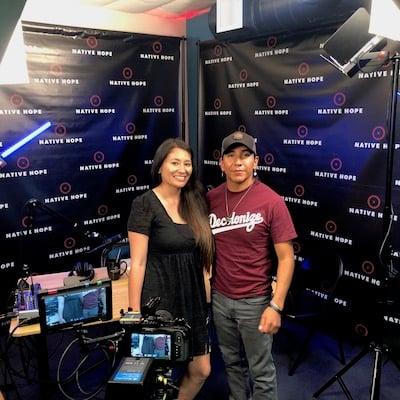 interviewer and interviewee