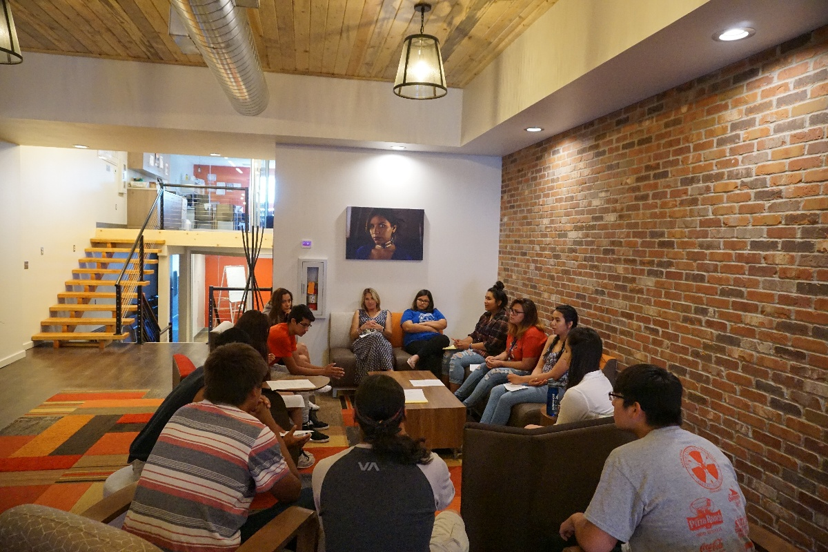 Leader's Society Meeting at Native Hope Offices-1