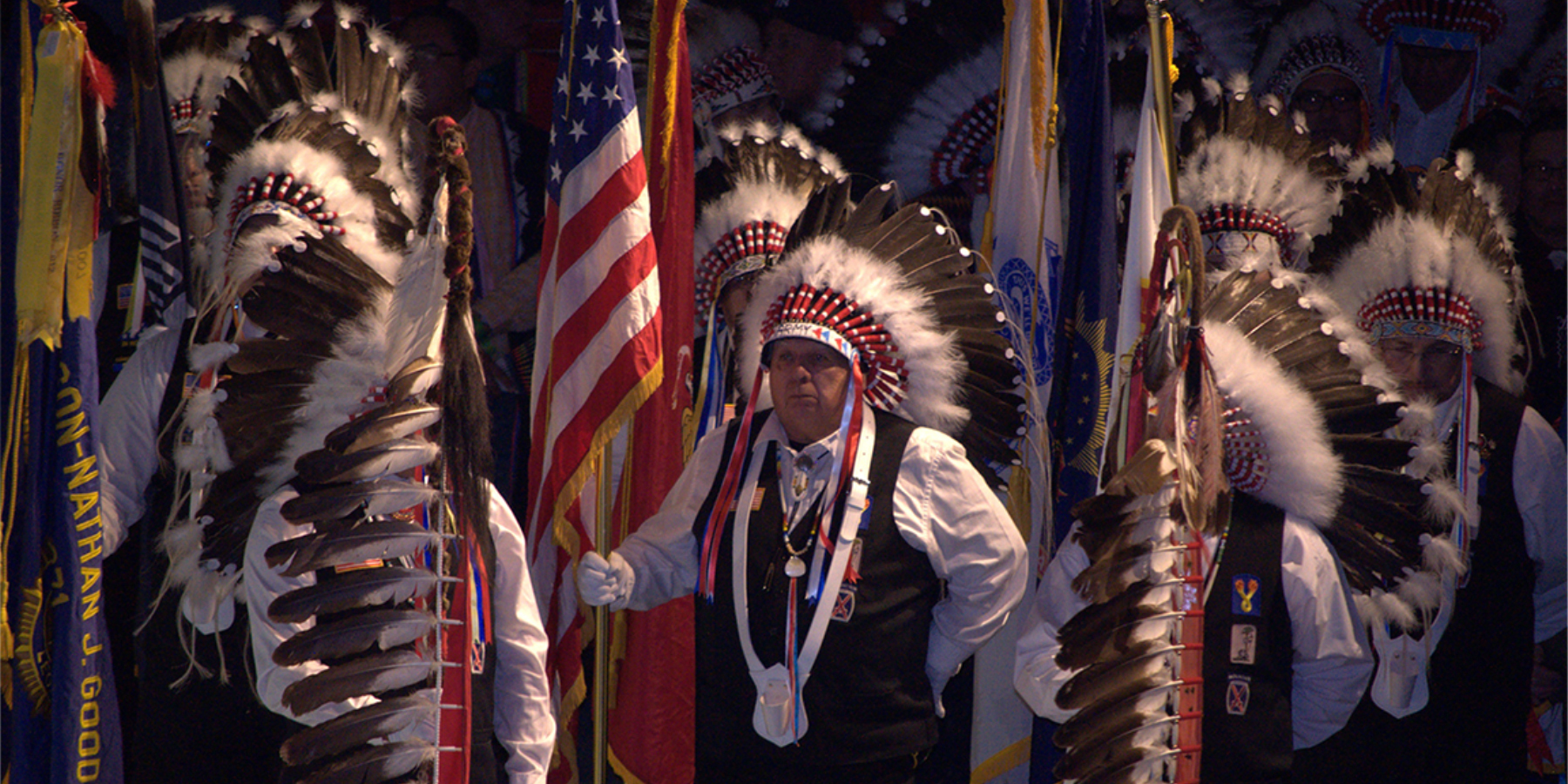 Native American Veterans serve the nation